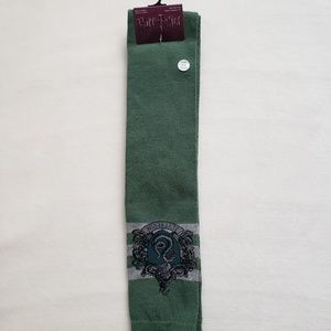 NWT Hot Topic Over The Knee Slytherin Socks